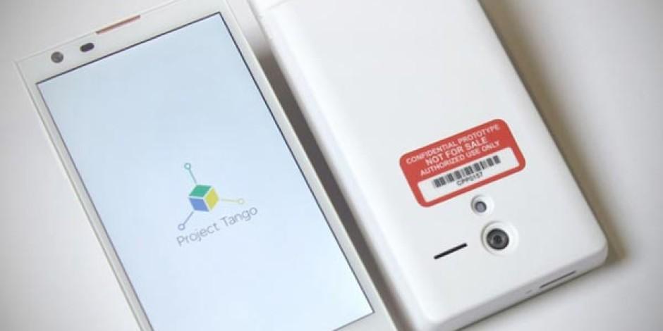 Google 3D Sensörlü Akıllı Telefon Projesi Tango'yu Duyurdu