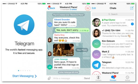 telegram-iOS-app