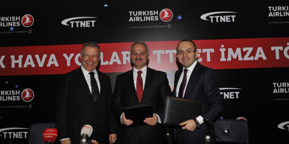 TTNET ve THY İşbirliğiyle Uçuşlarda Wi-Fi Hizmeti Başlıyor