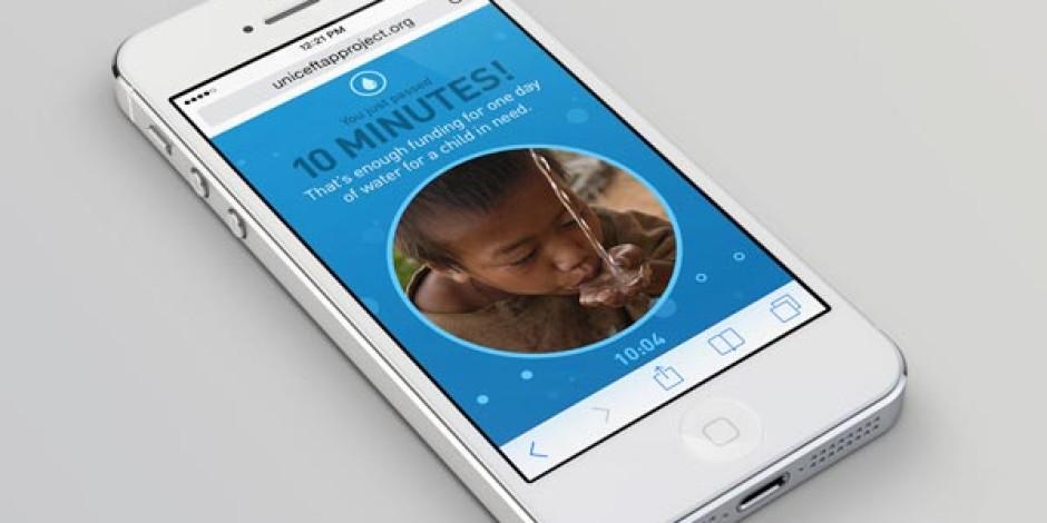 UNICEF'ten Mobil Bağımlılığınızı Sosyal Sorumluluğa Dönüştüren Proje