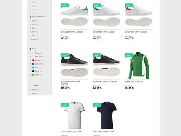 Adidas Türkiye'de Online Satışa Başladı