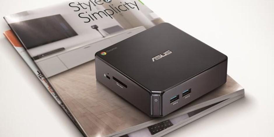 Asus, Mini Bilgisayarları ChromeBox ve VivoPC'yi Türkiye Pazarına Sundu