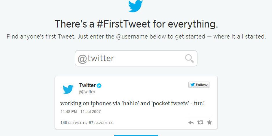 Twitter 8. Yaşını Eğlenceli İlk Tweet Uygulamasıyla Kutluyor
