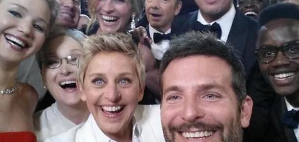 Ellen Degeneres'in Oscar Selfie'si Tüm Zamanların Retweet Rekorunu Kırdı