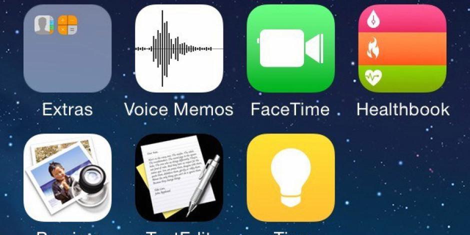 iOS 8'in Sızdırılan Arayüzü Yeni Uygulamalara İşaret Ediyor