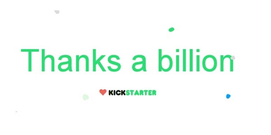 Kickstarter Fonları Toplamda 1 Milyar Doları Geçti