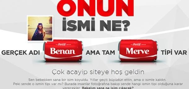 Coca-Cola'dan Fotoğraftan İsim Tahmin Etme Oyunu: Onun İsmi Ne?