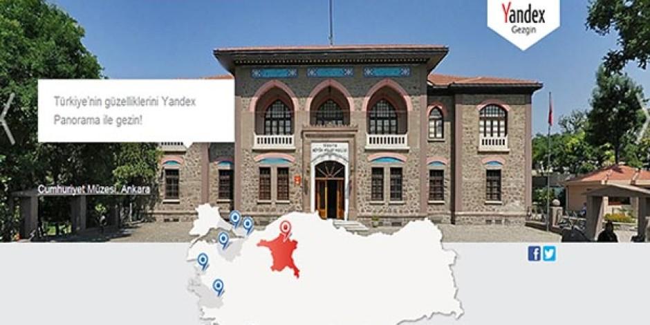 Yandex Gezgin Türkiye'nin Önemli Mekanlarını 360 Derece Görüntülüyor