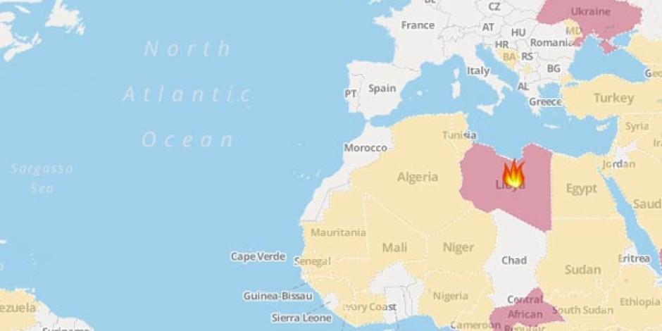 Dünyadaki Krizleri Gerçek Zamanlı Gösteren İnteraktif Harita: Crisis Watch