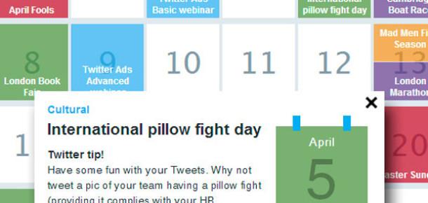 Twitter'dan Markalar İçin İçerik Takvimi Aracı: Own The Moment