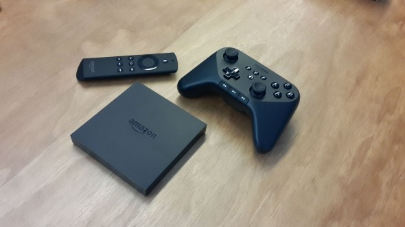 Amazon Fire TV ve Controller
