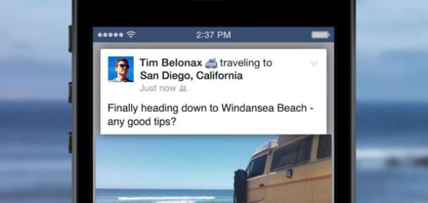 Facebook'ta Seyahatleri Paylaşma Dönemi Başladı