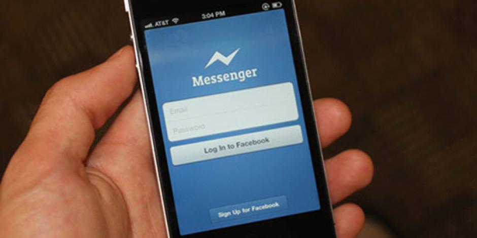 Facebook Mobil Mesajlaşma İçin Messenger'ı Zorunlu Hale Getiriyor