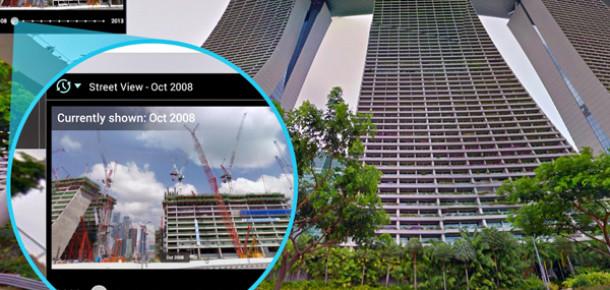 Google Sokak Görünümü'nde Artık 2007'ye Geri Dönmek Mümkün