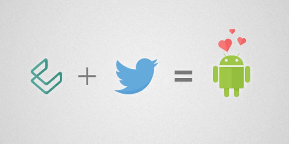Twitter'dan Android Servislerini Geliştirmeye Yönelik Satın Alma: Cover