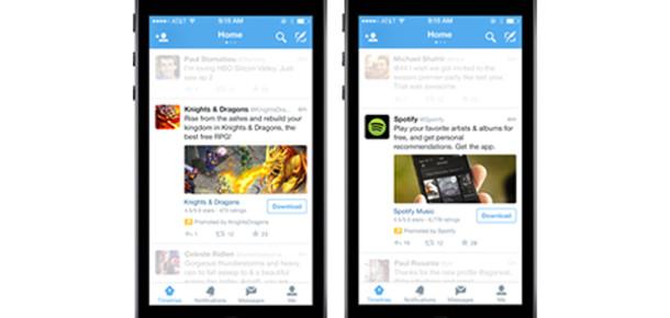Twitter Uygulama Yükleme Reklamlarını Tanıttı