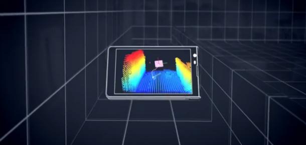 Google, 3 Boyutlu Çekim Yapabilen Tablet Geliştiriyor