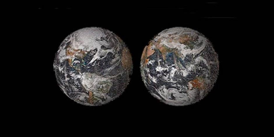 NASA'dan 36 Binden Fazla Selfie'den Oluşan Dünya Haritası