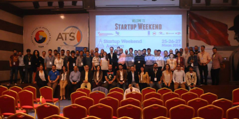 Antalya Startup Weekend Etkinliği