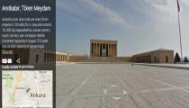 19 Mayıs Şerefine Anıtkabir, Google Street View İle Dünyaya Açıldı