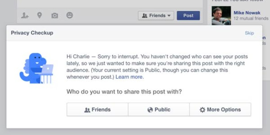 """Facebook Gizlilik Ayarlarında """"Herkese Açık"""" Paylaşım Kuralını Değiştirdi"""