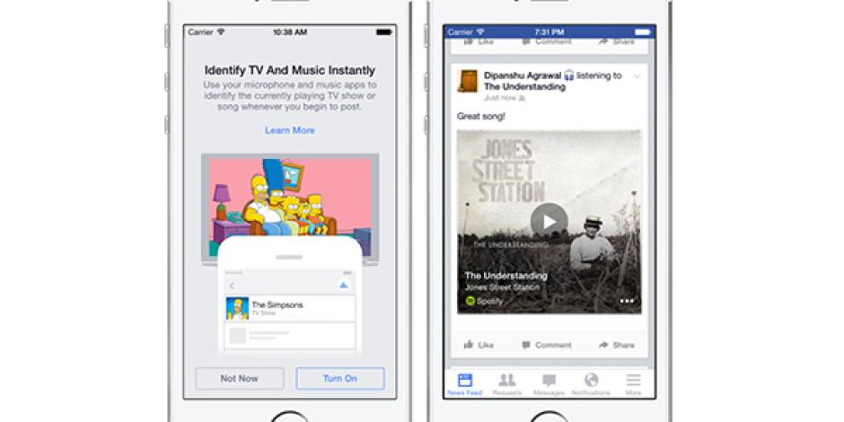 Facebook, Shazam Benzeri Yeni Özelliğiyle Dinlediğiniz Şarkıları Algılayacak