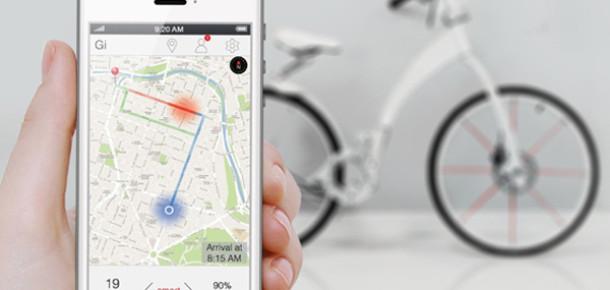 Elektrikle Çalışan, Katlanabilir Akıllı Bisiklet: Gi Bike