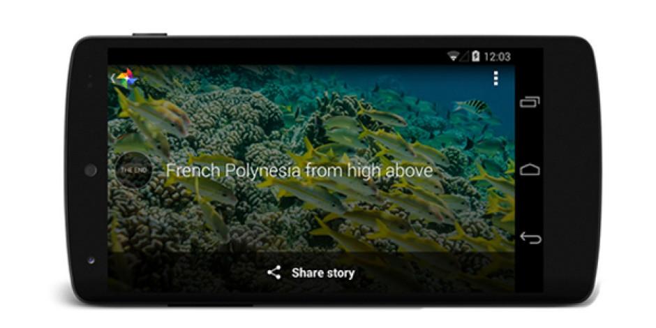 Google+ Görselleri Hikayeleştiren Yeni Özelliği Stories'i Duyurdu