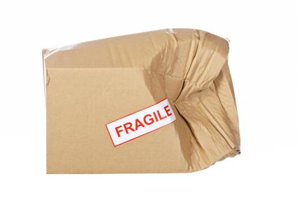 Hasarlı kutu