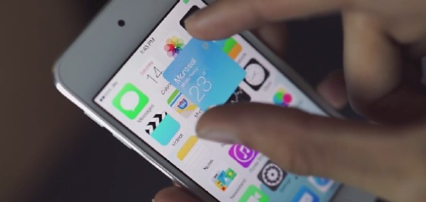 Widget'ları iPhone ve iPad'e Getiren iOS 8 Konsepti: iOS Block