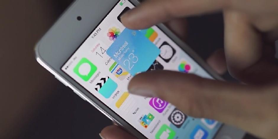 Widget'ları iPhone ve iPad'e Getiren iOS 8 Konsepti: iOS Block