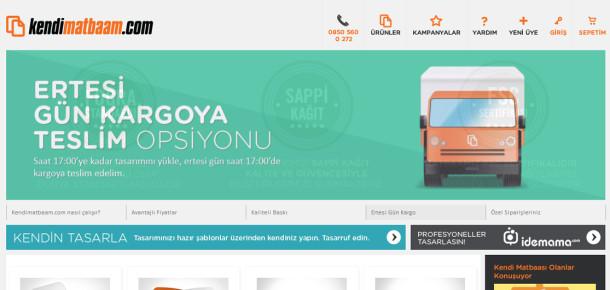 Online matbaa girişimi Kendimatbaam.com yüksek kalitesi ve özel fiyatlarıyla öne çıkıyor