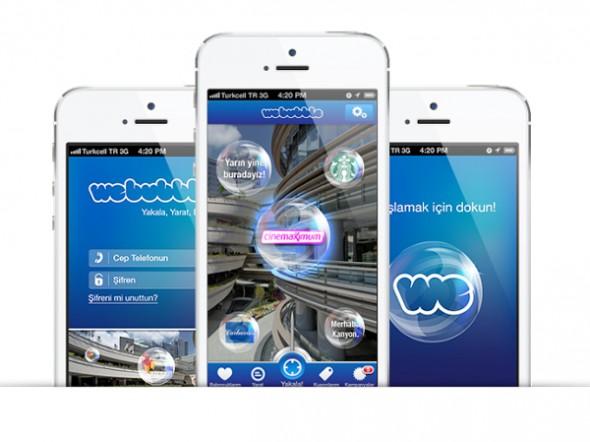 Kanyon'un Artırılmış Gerçeklik Uygulaması WeBubble' Solal'dan Ödül