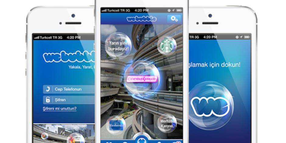Kanyon'un Artırılmış Gerçeklik Uygulaması WeBubble'a Solal'dan Ödül