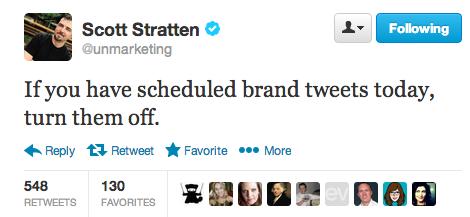 Tweet örneği