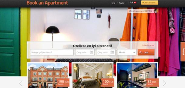 Alternatif konaklama alanında yeni bir girişim: BookAnApartment