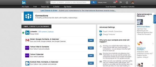 Contacts---LinkedIn