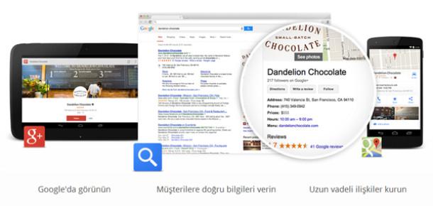 Google'dan işyeri sahipleri için yeni platform: Google My Business