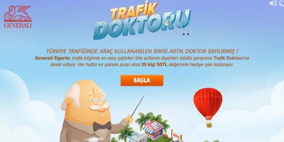 Generali Sigorta'dan bilgi yarışması tadında Facebook oyunu: Trafik Doktoru