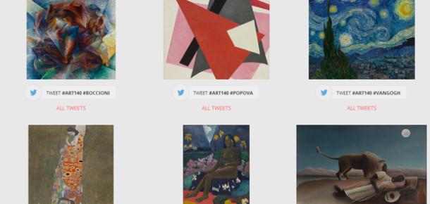Twitter kullanıcılarını sanat eleştirmenine dönüştüren proje: ART140