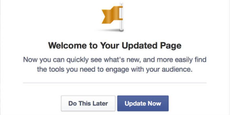 Tek sütunlu yeni Facebook Sayfaları kullanıcılara açıldı