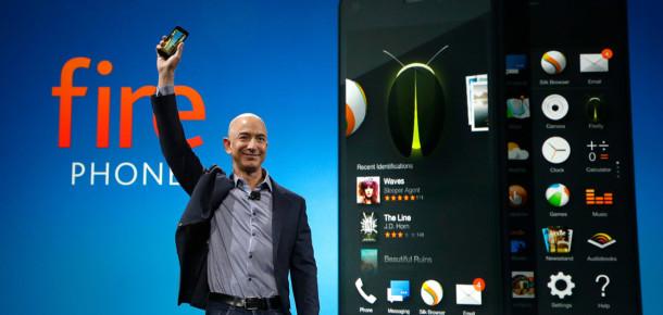 Amazon ilk akıllı telefonu Fire Phone'u tanıttı