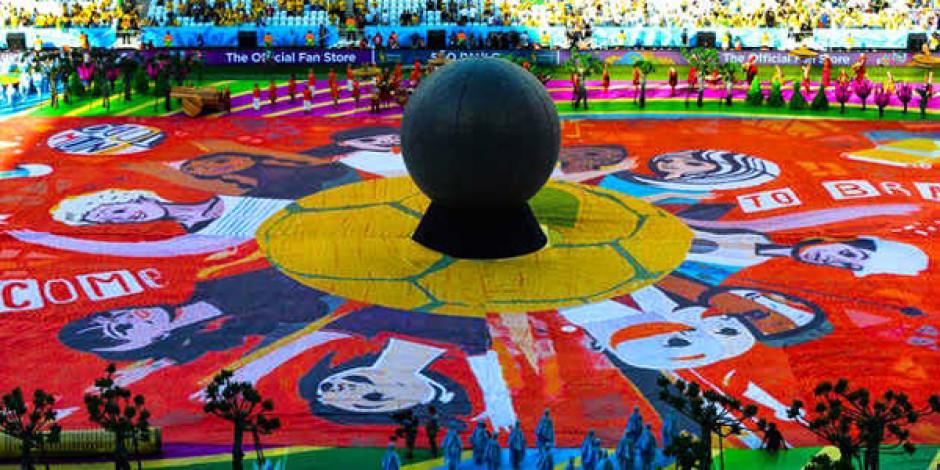 Coca Cola mutluluğu bu kez Dünya Kupası'na taşıdı: Happiness Flag