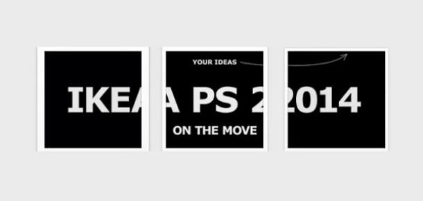 IKEA Instagram üzerindeki ilk web sitesini yarattı: IKEA PS 2014