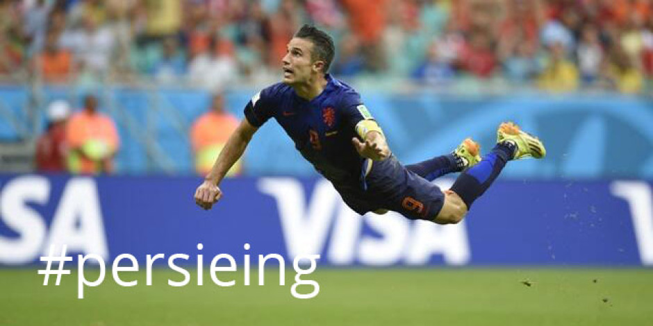 2014 FIFA Dünya Kupası'nın ilk sosyal medya akımı: #Persieing