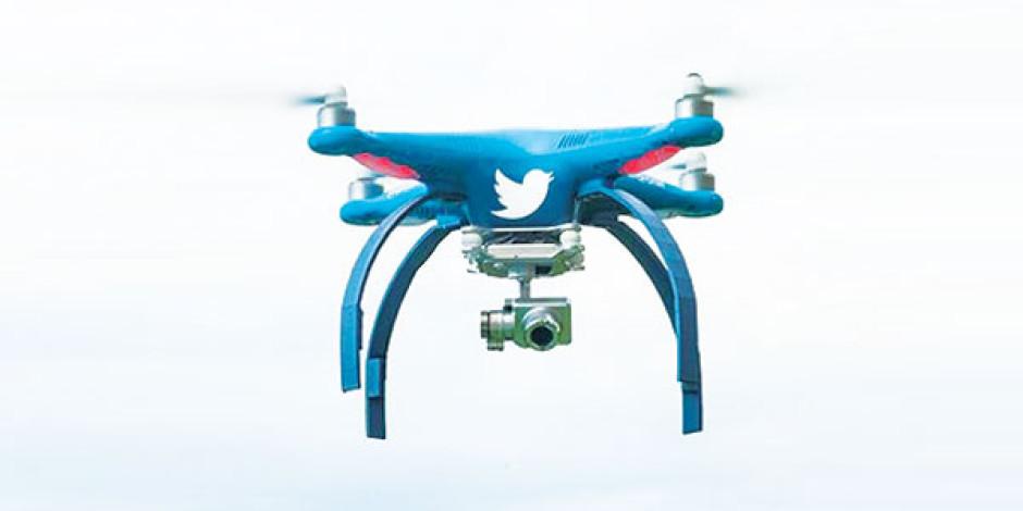 Twitter, drone'larla özçekimi yeniden tanımlıyor
