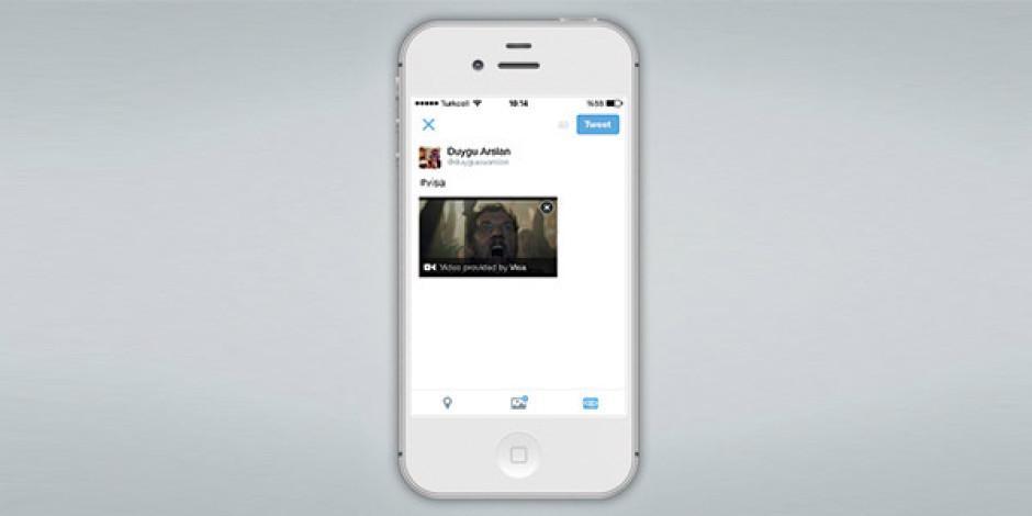 Twitter yeni video paylaşım özelliğini Visa ve Adidas ile başlattı