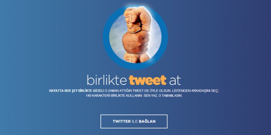Ortak tweet oluşturma uygulaması: Birlikte Tweet At