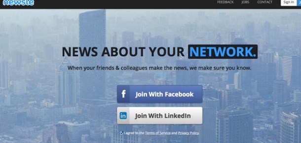 LinkedIn bağlantılar hakkında alakalı haberler sunan Newsle'yi satın aldı