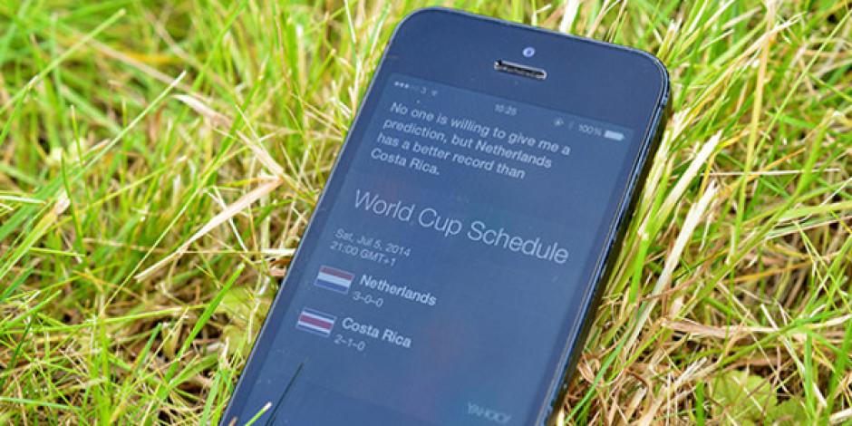 Dünya Kupası kahinlerine Siri de katıldı
